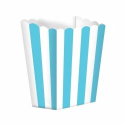 Candy Buffet Popcorn Box Caribbean Blue