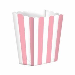 Candy Buffet Popcorn Box Pink
