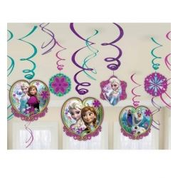 Disney Frozen Party Swirls