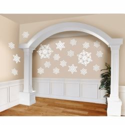 Snowflake Glitter Cutout Mega Value Pack