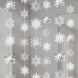Snowflake Party String Decoration