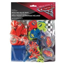 Cars 3 Mega Value Favour Pack