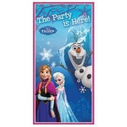 Frozen The Party Is Here Door Banner