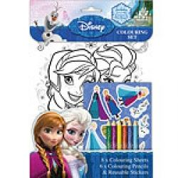Frozen Party Favour Colouring Sets