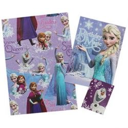 Frozen Gift Wrap and Birthday Card Pack