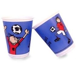 Bang On The Door Football Crazy Party Cups