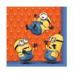 Despicable Me Minion Party Napkins