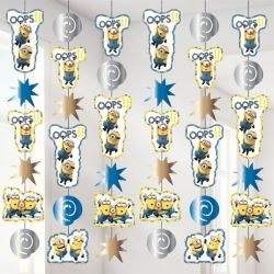 Despicable Me Minion Party String Decoration
