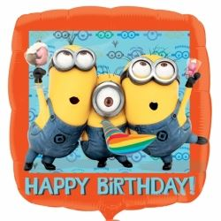 Despicabe Me Minions Party Foil Balloon