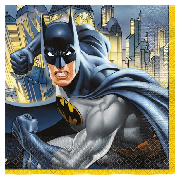 Batman Party Napkins
