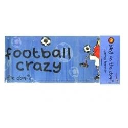 Bang On The Door Football Crazy Party Banner