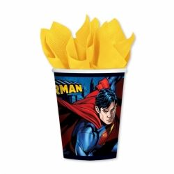 Superman Party Cups