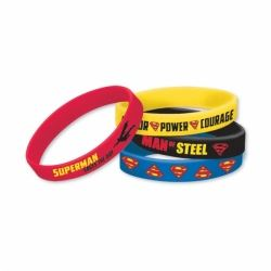 Superman Party Favour Bracelets