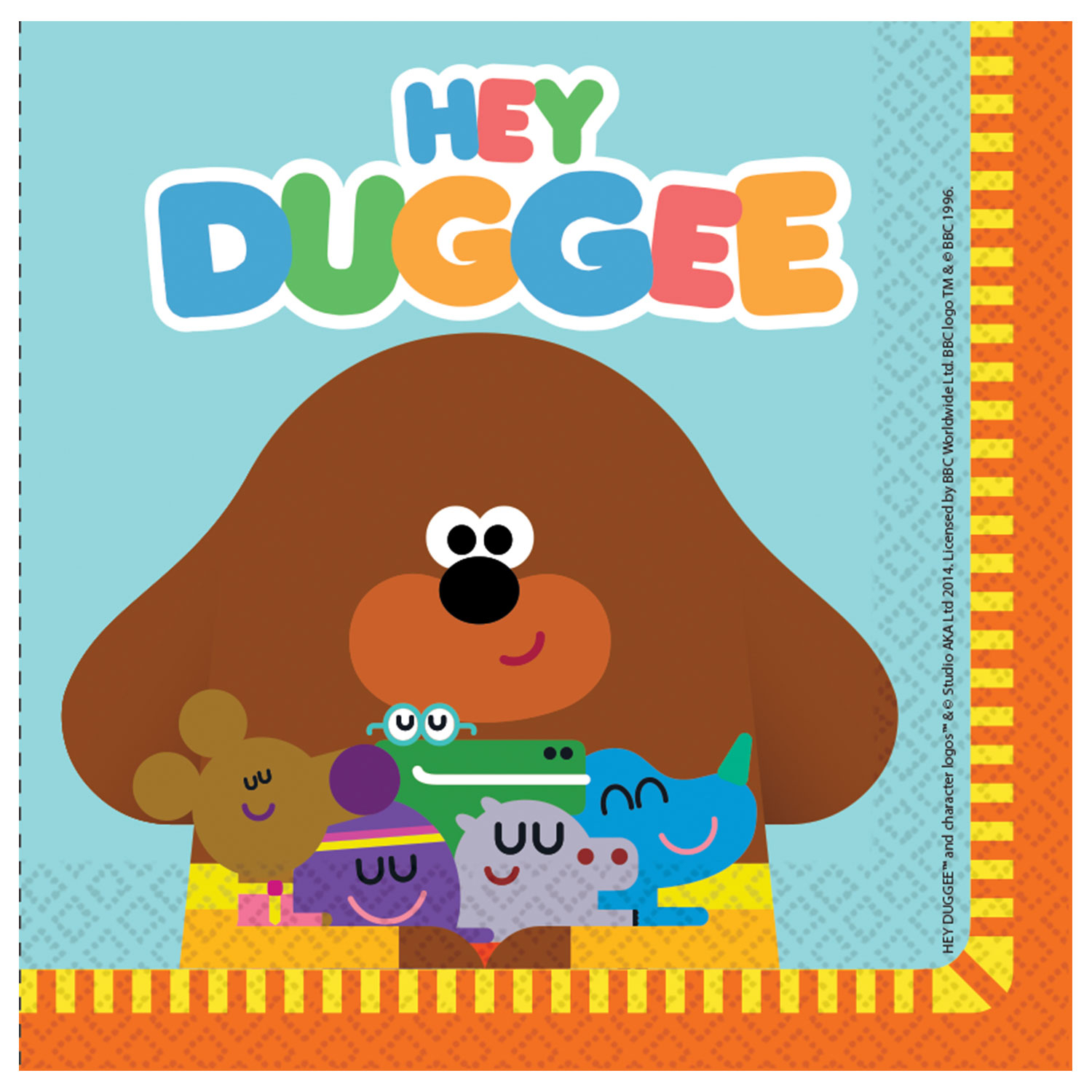 Hey Duggee Party Napkins