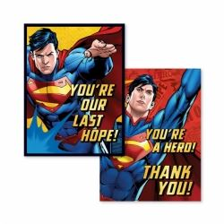 Superman Party Invitations & Thank You's