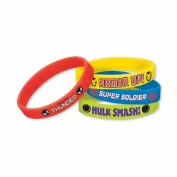 Marvel Avengers Party Favour Bracelets