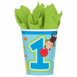 One Wild Boy 1st Birthday Party Cups