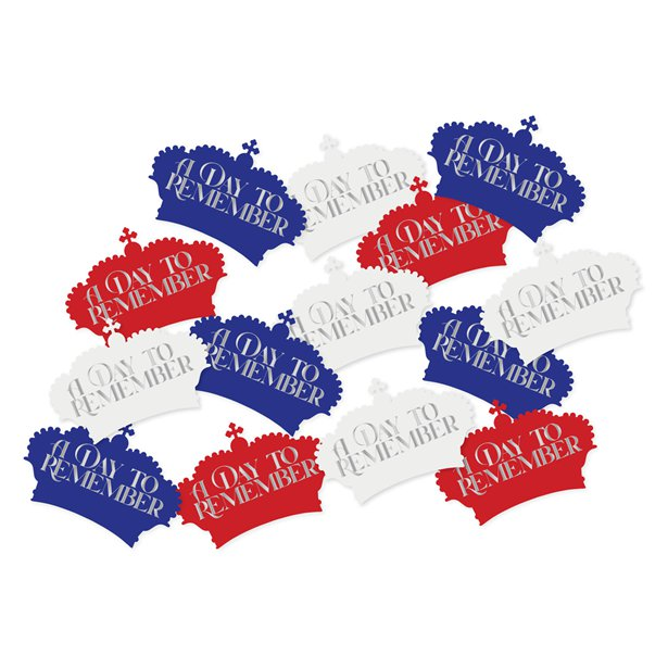 Batman Party Table Confetti
