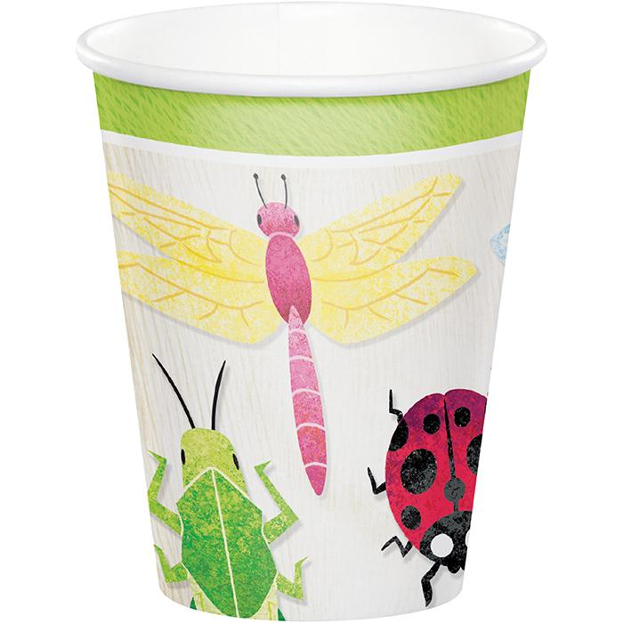 Birthday Bugs Party Cups