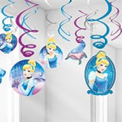 Cinderella Party Swirls Decorations
