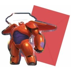Big Hero 6 Party Invitations