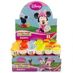 Minnie Mouse Party Favour Bubbles 60ml