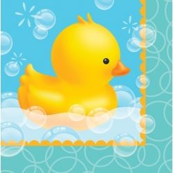 Lil Quack Bubble Bath Party Baby Shower Napkins