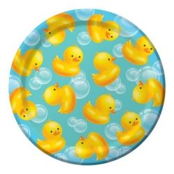 Lil Quack Bubble Bath Party Lunch Plates