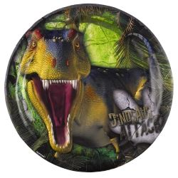 Dino Attack Party Plates