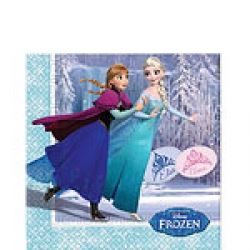 Frozen Skating Party Napkins