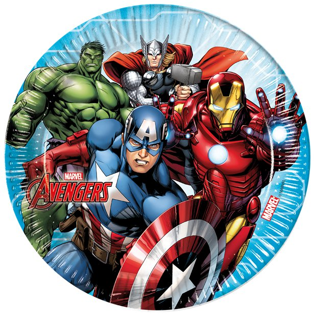 Avengers Mighty Party Plates