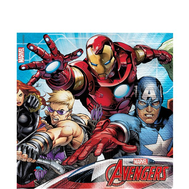 Avengers Mighty Party Napkins