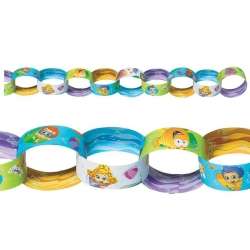 Bubble Guppies Party Paper Chain Decorations