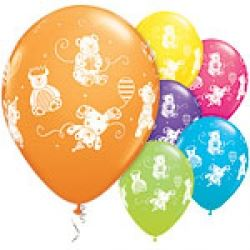 Cute & Cuddley Bear Party Balloons