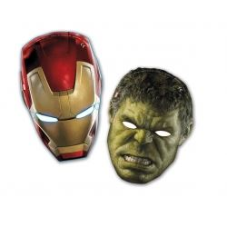 Avengers Age Of Ultron Party Masks