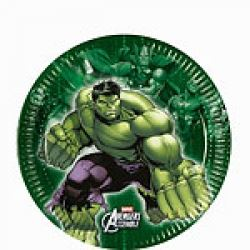 Avengers Heroes Hulk Party lunch Plates