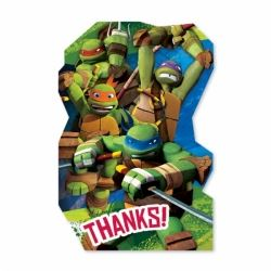 Teenage Mutant Ninja Turtles Thank You Cards