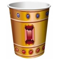 Buried Treasure Pirate Party Cups