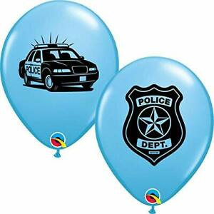 Police Party Balloons