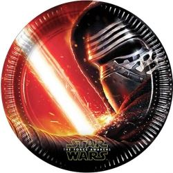 Star Wars The Force Awakens Party Plates