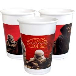 Star Wars The Force Awakens Party Cups