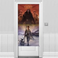 Star Wars The Force Awakens Party Door Banner