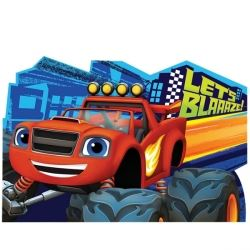 Blaze And The Monster Machines Party Invitations
