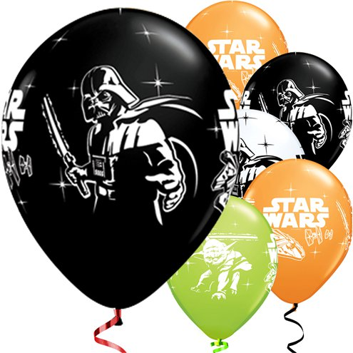 Star Wars The Force Awakens Party Balloons