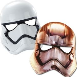 Star Wars The Force Awakens Party Masks
