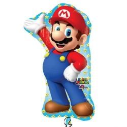 Super Mario Supershape Foil Party Balloon