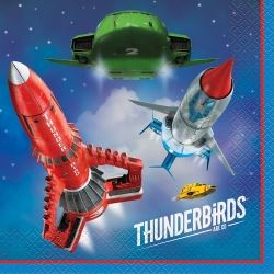 Thunderbirds Are Go Party Napkins