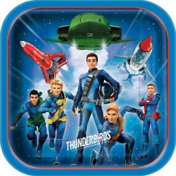 Thunderbirds Are Go Party Plates