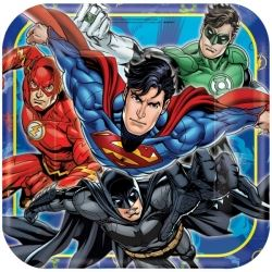 Justice League Party Plates