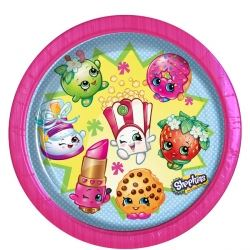 Shopkins Party Plates